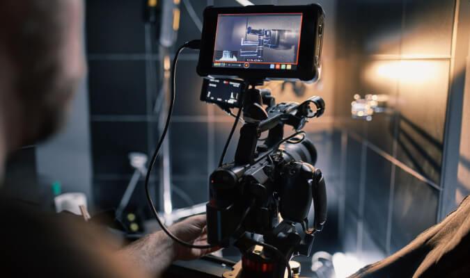Unsere Kamera für Ihren Imagefilm