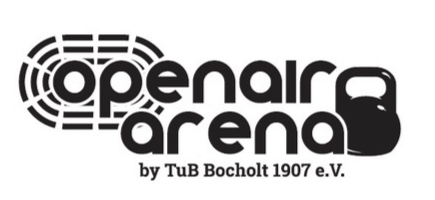 Logo unseres Partners openair arena by TuB Bocholt