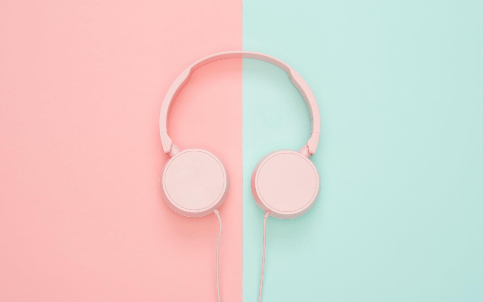 Produktfoto von einem Kopfhörer