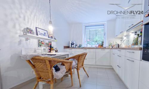 Küche der Souterrainwohnung in Dortmund